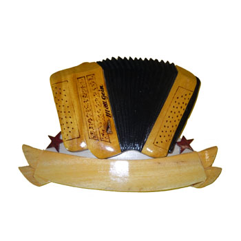 Accordeon jaune
